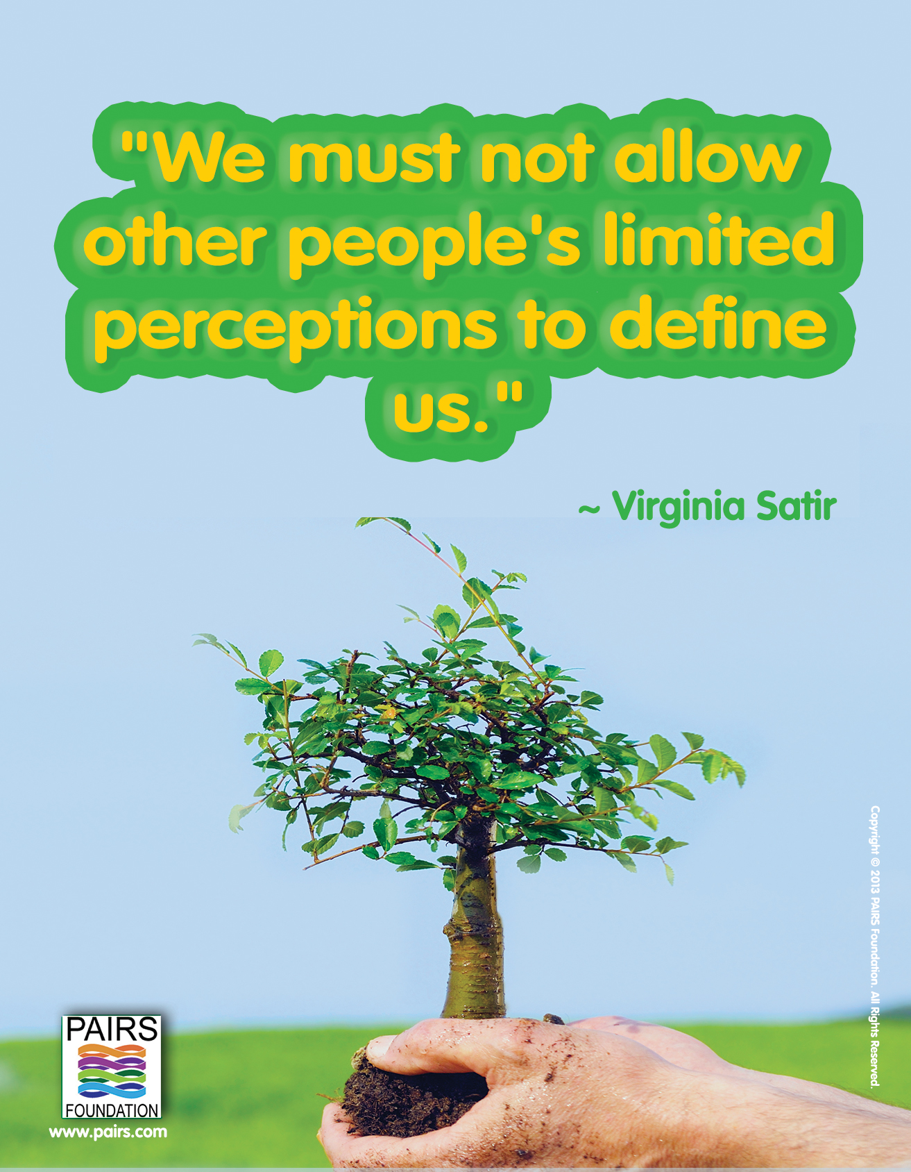 Virginia Satir - Define Yourself