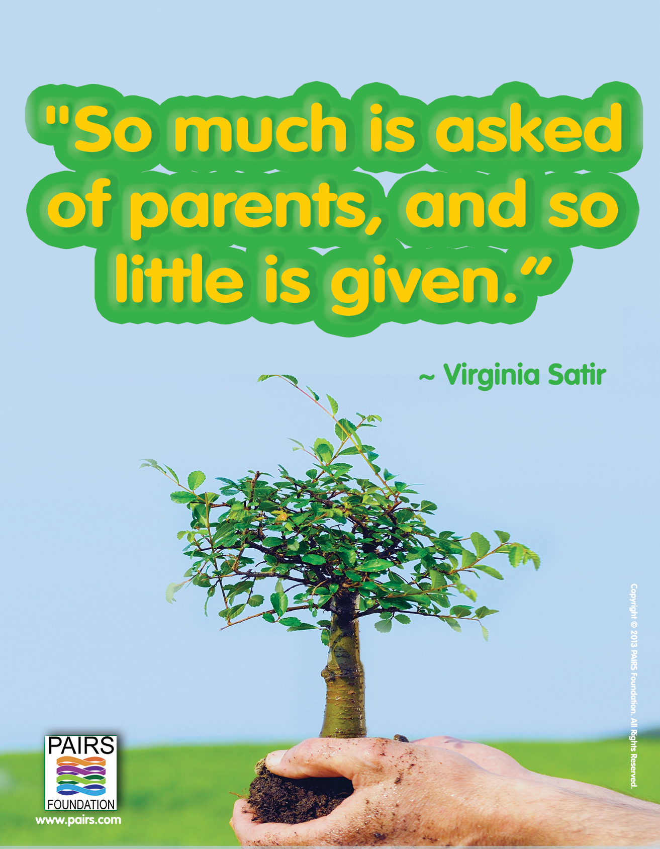 Virginia Satir - Parents